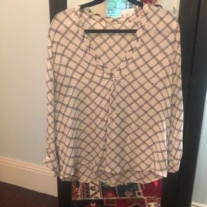 Joie Rope Silk Blouse